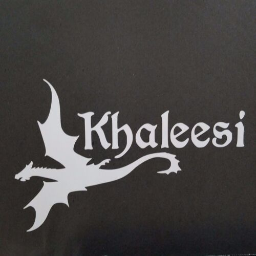 Game of Thrones Khaleesi Decal Vinyl Decal for laptop windows wall car boat