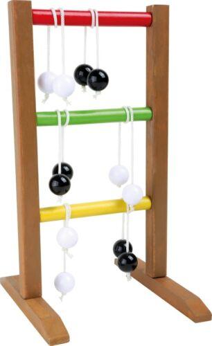 Tischspiel Leiterwurf kleines Wurfspiel aus Holz