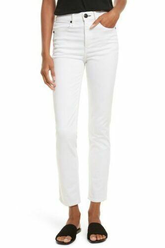 Rag & bone Cigarette Skinny Size 29 White Denim High Waist Jeans