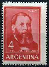 Argentina 1962 SG#1069, 4p Jose Hernandez MNH #D33048