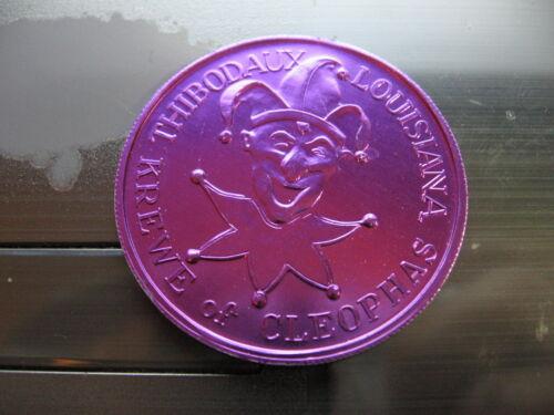 camera projecting mickey mouse on balloon 1978 Mardi Gras Doubloon disney
