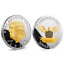 US President Donald Trump 2020 KEEP AMERICA GREAT Silver /& Gold Two Tone Coin yu