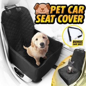 Waterproof Pet Car Dog One Seat Cover Pad Cat Safe Travel Hammock Mat Cradle