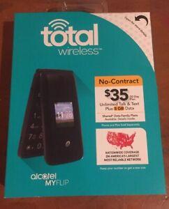 Tracfone-Alcatel-A405-Flip-Prepaid-Cell-Phone