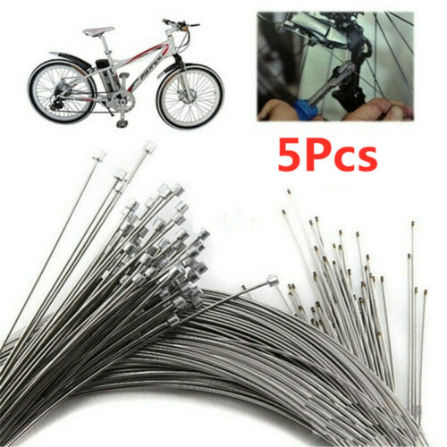 5//10x Bicycle Shift Shifter Derailleur Gear Stainless Steel Inner Cable Wire