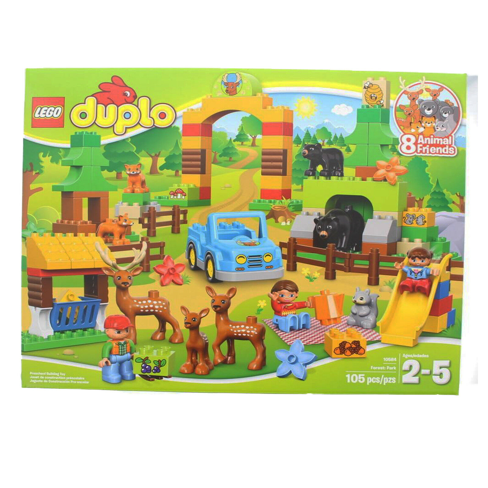 LEGO Duplo Town 10584 Park Forest Play Building Set