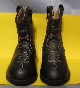 8f324d0f0 HEALTHTEX Kid's Cowboy Boots, Shoes; Sz 2; Black; Western; All ...