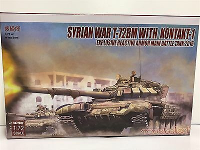 Modelcollect UA72082, Syrian War T-72BM with Kontakt-1 explosive reactive armor