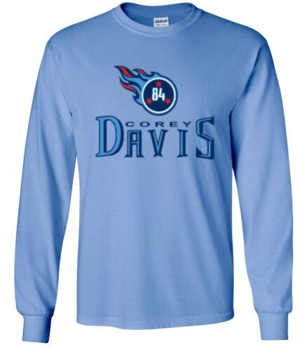 """Corey Davis Tennessee Titans /""""LOGO/"""" jersey T-shirt Shirt or Long Sleeve"""