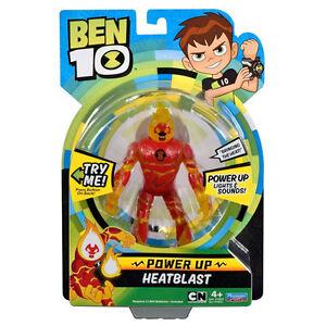 Ben-10-De-luxe-Power-Up-Heatblast-Figurine-D-039-Action-TOUT-NEUF