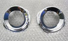 VAUXHALL VECTRA C VXR / LINE PACK 2 FOG LIGHT SURROUND CHROME RING SET NEW 03-09