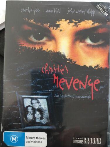 1 of 1 - Christie's Revenge (DVD, 2011) She Has A Terrifying Agenda - Free Post!