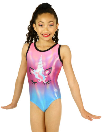 Unicorn Sublimated Gymnastics or Dance Leotards by Snowflake Designs NEW