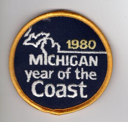 MICHIGAN DEER BEAR TURKEY 1980 MICHIGAN YEAR OF THE COAST PATCH