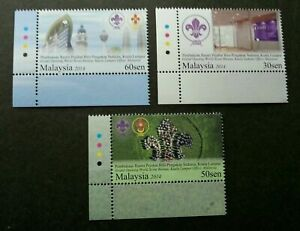 SJ-Malaysia-Grand-Opening-Of-World-Scout-Bureau-KL-2014-stamp-color-MNH