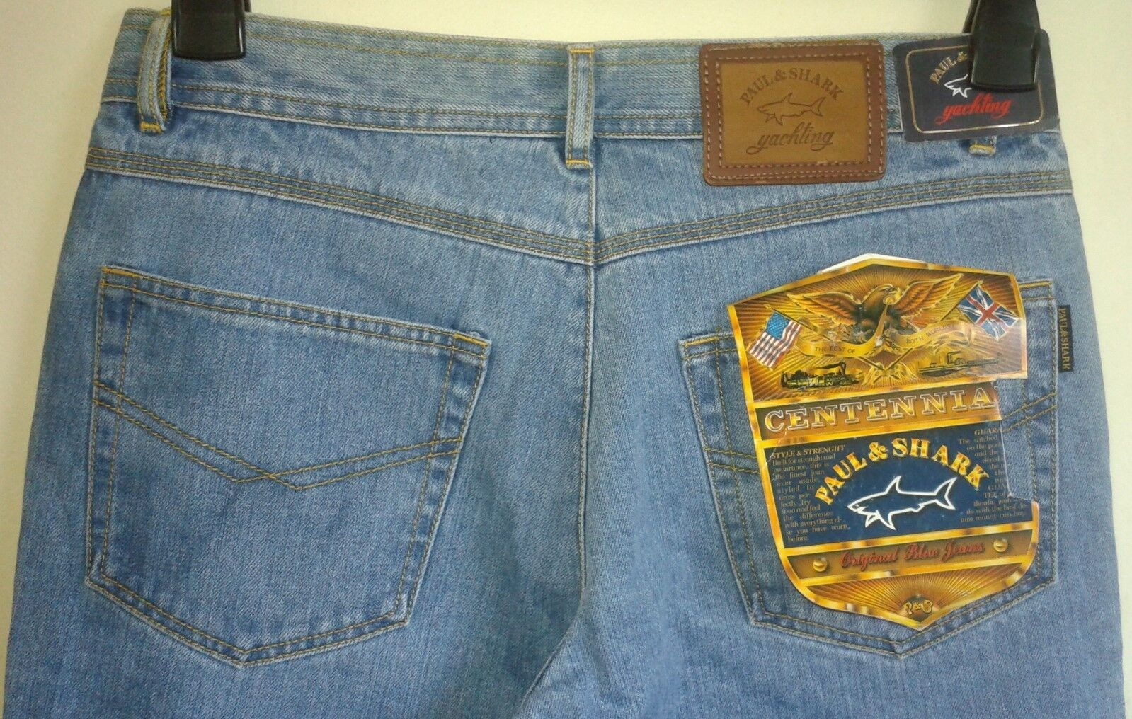 Paul & Shark Yachting Limited Edition Centennial bluee Jeans  W30 L33