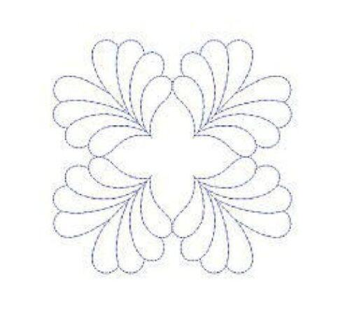 Machine Embroidery Designs Quilt Motifs VII 1145