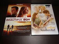 BEAUTIFUL BOY & YELLOW HANDKERCHIEF-2 movies-MARIA BELLO,KRISTEN STEWART,WM HURT