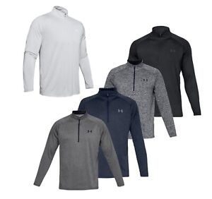 2019-Under-Armour-UA-Tech-2-0-1-2-Zip-Pullover-Golf-Top-Choose-Size-and-Color