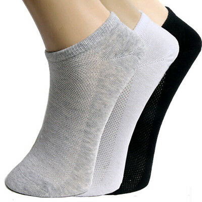 Lot Mens Womens Unisex Sport Low Cut Crew Cotton Ankle Sport Socks Casual Socks