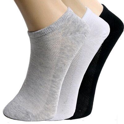 Lot Mens Womens Unisex Sport Low Cut Crew Cotton Ankle Sport Socks Casual Socks