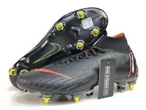 142e68ea0710 Nike Mercurial SUPERFLY 6 VI ELITE 360 SG-PRO Mens Size 10 Black ...