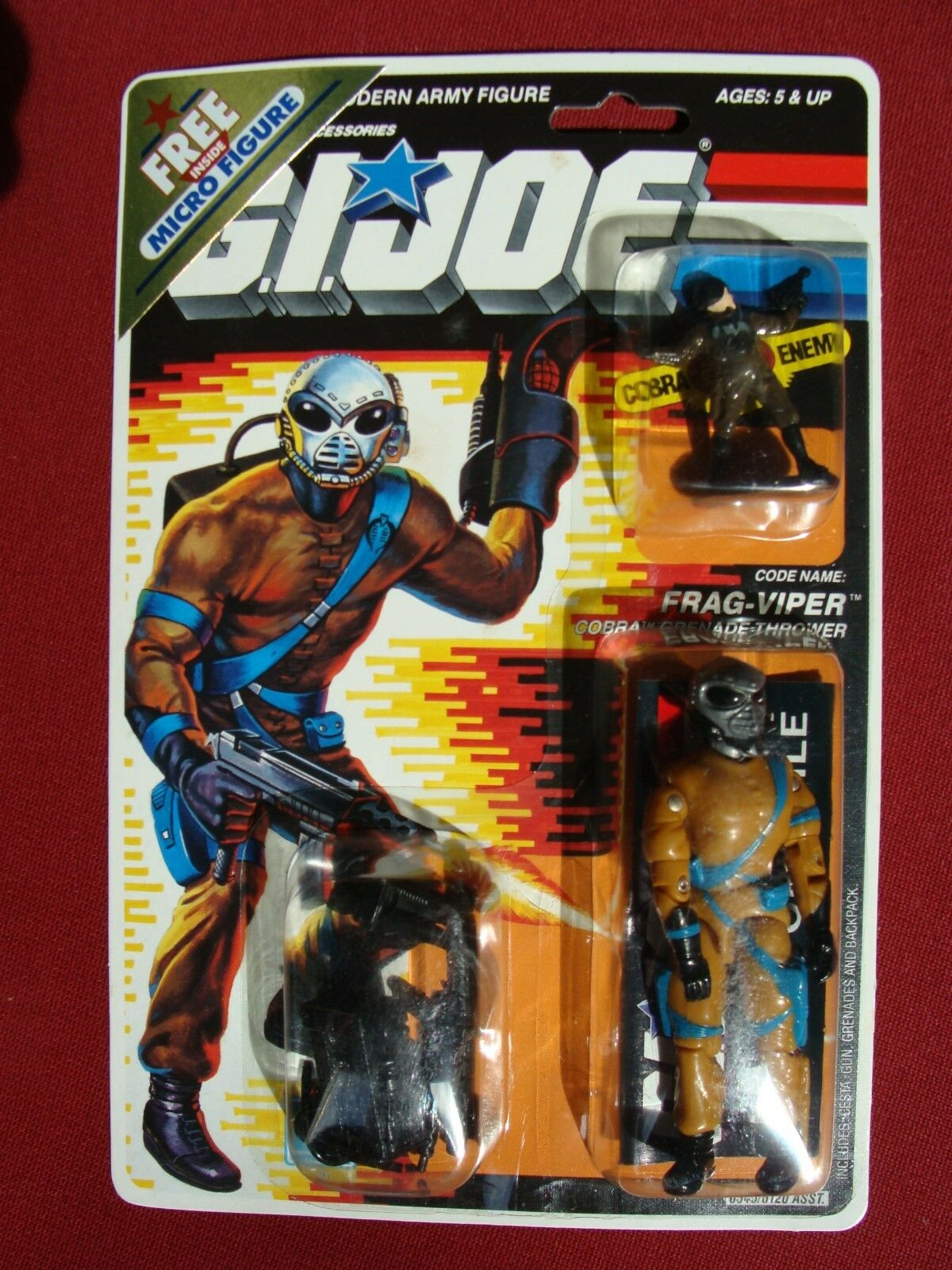 Gi - joe - patrioten - figur major Blaudd wichtigste viper.