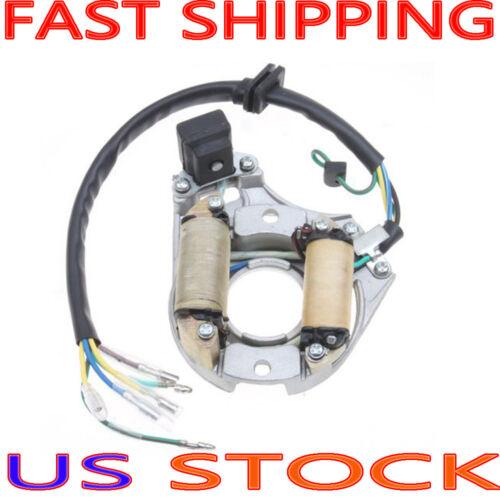 2 Coil Magneto Stator for 50cc 70cc 90cc 110cc 125cc ATV Dirt Bike Go Kart