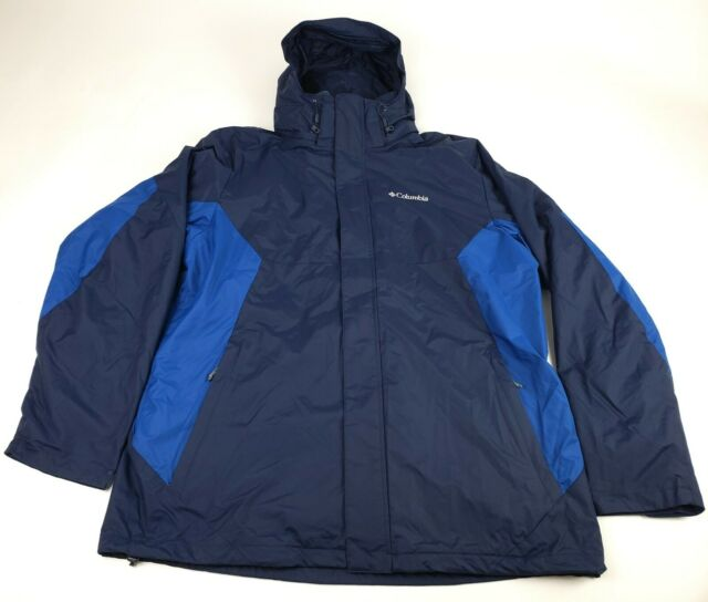 Columbia Mens Big and Tall Big /& Tall Eager Air Interchange 3-in-1 Jacket