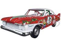 Richard Petty 1960 Plymouth Fury 43 2015 Christmas Ed 1/24 Autoworld 24003