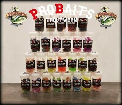 Probaits Trout Worms 18 Forellenköder