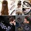 Women-Girl-Bling-Rhinestone-Hair-Clip-Headband-Elastic-Hairband-Hair-Accessory thumbnail 2