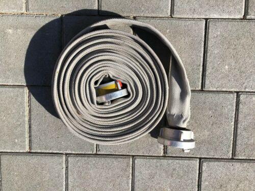 Feuerwehrschlauch 15m 20m Storzkupplung C 52  B 75mm Flachschlauch Rollschlauch