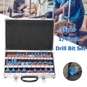 35pcs-set-1-4in-Handle-Bit-Mill-Engraving-Woodworking-Milling-Cutter-Trimmer