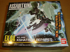 ASSAULT KINGDOM EX 04 NZ-666 KSHATRIYA REPAIRED (GUNDAM) BANDAI