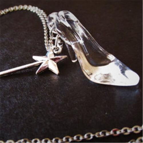 Zapatilla collar de cristal de Cenicienta