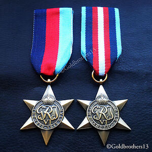 WW2-BRITISH-MILITARY-MEDALS-1939-1945-STAR-amp-ARCTIC-STAR-COMMONWEALTH-COPY