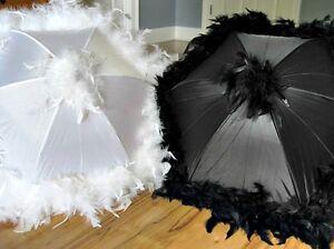Second Line Wedding Umbrellas New Orleans Authentic Feather Parasols