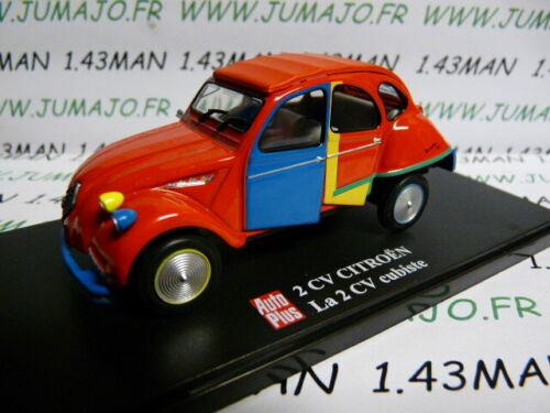 2CVAP64 voiture 1//43 ELIGOR Autoplus CITROËN 2CV n°22 Cubiste Picasso