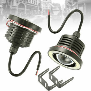 2-x-3-039-039-Angel-Eyes-Halo-Car-White-Fog-Lights-Lamp-Projector-DRL-COB-LED-Bulbs