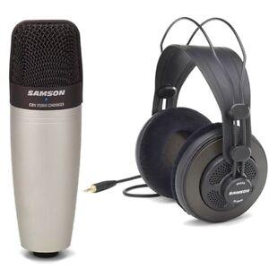 samson c01 vocal instrument microphone sr850 studio monitor headphones. Black Bedroom Furniture Sets. Home Design Ideas