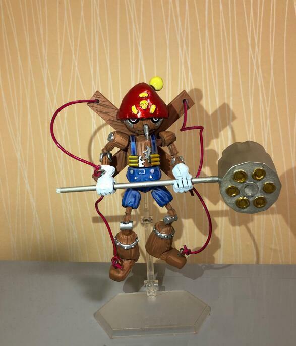 DIGIMON Adventure puppetmon cifra RESINA Statua GK zukan limite preordine N