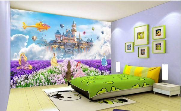 3D Schneewittchens Schloss Fototapeten Wandbild Fototapete BildTapete Familie DE