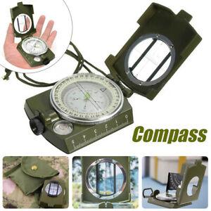 Professioneller Metall Marschkompass Peil Kompass Compass Reisen 360 leuchtende