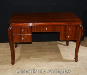 Art Deco Desk Rosewood Office Furniture Ebay