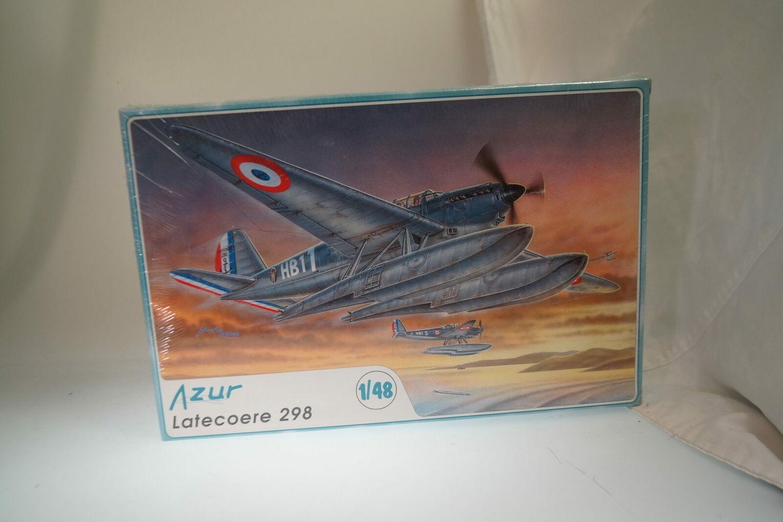 1 48 Azzurro A022 Latecoere 298, Nuovo   Conf. Orig.