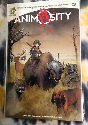 ANIMOSITY #5 Aftershock Comics Bennett,  De Latorre 1st prints