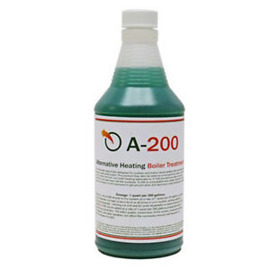 A200 Boiler Water Treatment Chemical Outdoor Wood Furnaces - Treats up to 200gal