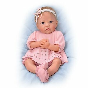 claire 18 inch realistic silicone baby girl doll from ashton drakeimage is loading claire 18 inch realistic silicone baby girl doll