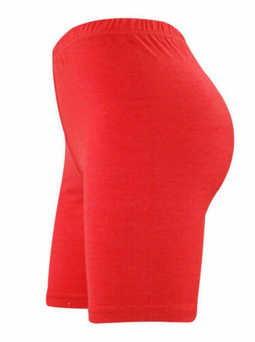 LADIES CYCLING SHORTS FOR CASUAL WEAR /& GYM//RUNNING LEGGINGS SIZES 8-26